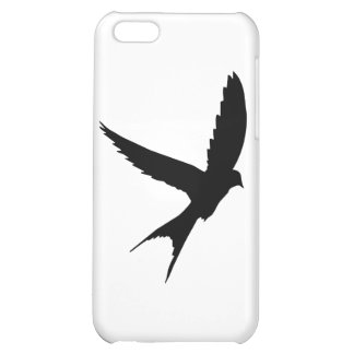 Swallow Silhouette iPhone 5C Cover