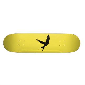 Swallow Silhouette Custom Skateboard