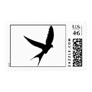 Swallow Silhouette Stamps