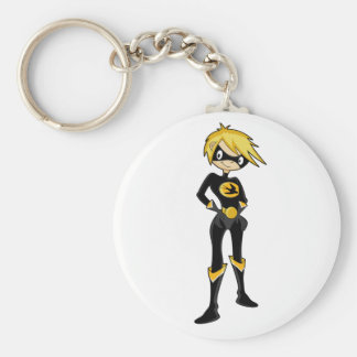 Swallow Superhero Girl Key Chain