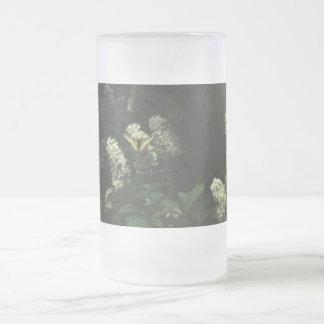 Swallow Tail #01 Frosted Glass Beer Mug
