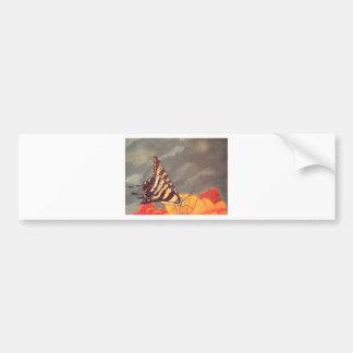 Swallow Tail Butterfly Car Bumper Sticker