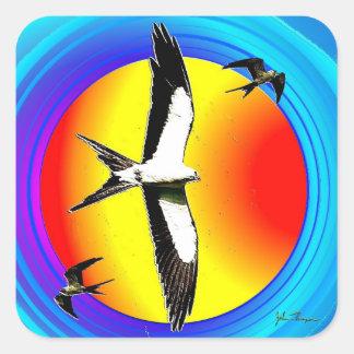 Swallow Tail Kite stickers