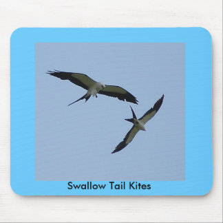 Swallow Tail Kites Mouse Pad