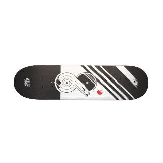 Swallow tail skate board deck