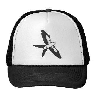 Swallow-tailed Kite cartoon Trucker Hat
