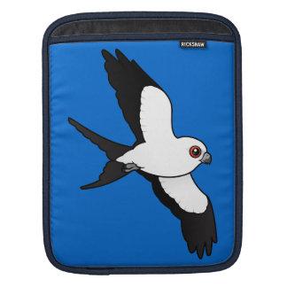 Swallow-tailed Kite in flight iPad Sleeve