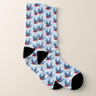 Swallow Tattoo Socks