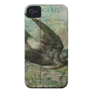 Swallow with Flowers iPhone 4 Case-Mate Case
