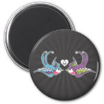 Swallows 2 Inch Round Magnet