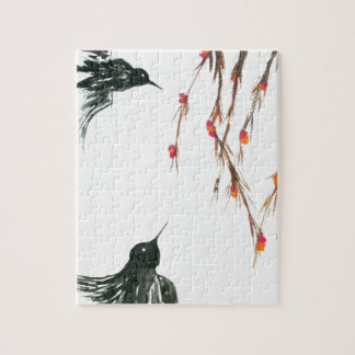 Swallows and berries puzzle