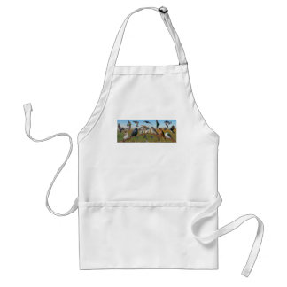 Swallows and Purple Martins Adult Apron
