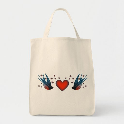 Swallows and Stars Bags