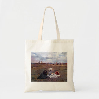 Swallows by Edouard Manet Canvas Bags