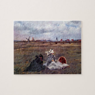 Swallows by Edouard Manet Jigsaw Puzzle