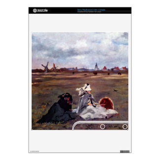 Swallows by Edouard Manet PS3 Slim Console Decals