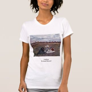 Swallows By Manet Edouard T-shirt