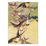 Swallows Greeting Card