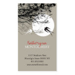Swallows in Moonlight Ash Custom Profile Card Business Card Templates