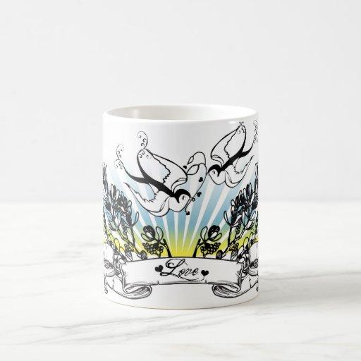 Swallows Love Mug