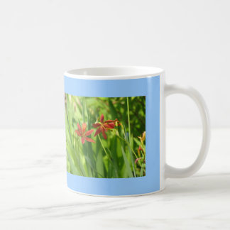 Swallowtail and Lilies Coffee Mug