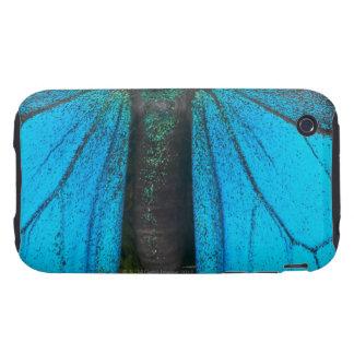 Swallowtail azul de la montaña (Papilio Ulises) Carcasa Resistente Para iPhone