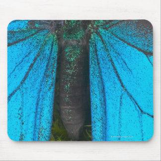 Swallowtail azul de la montaña (Papilio Ulises) Tapete De Ratón
