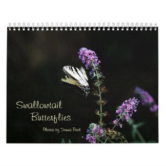Swallowtail Butterflies Calendar