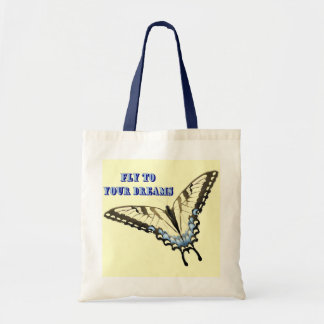 Swallowtail Butterfly Budget Tote Bag