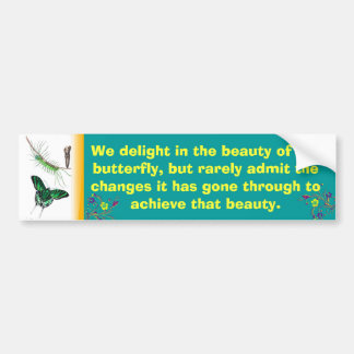 Swallowtail Butterfly bumper sticker