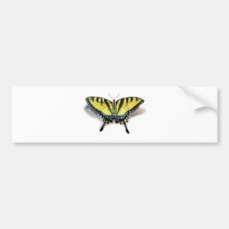 Swallowtail Butterfly Car Bumper Sticker