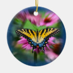 Swallowtail Butterfly Ceramic Ornament
