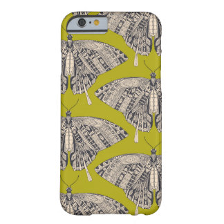 swallowtail butterfly citron basalt barely there iPhone 6 case