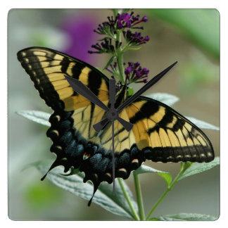 Swallowtail Butterfly Clock