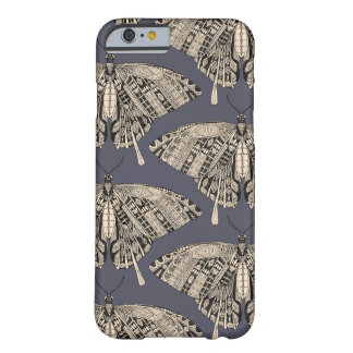 swallowtail butterfly dusk black barely there iPhone 6 case