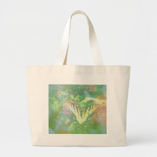 swallowtail butterfly expired film large tote bag