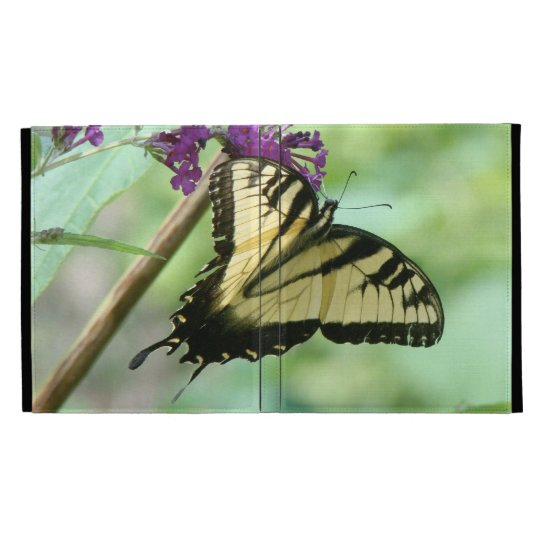 Swallowtail Butterfly Flowers Floral Wildlife iPad Folio Cover