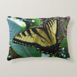 Swallowtail Butterfly I on Milkweed at Shenandoah Accent Pillow
