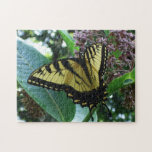 Swallowtail Butterfly I on Milkweed at Shenandoah Jigsaw Puzzle