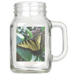 Swallowtail Butterfly I on Milkweed at Shenandoah Mason Jar