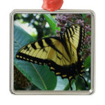 Swallowtail Butterfly I on Milkweed at Shenandoah Metal Ornament