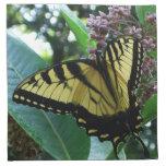 Swallowtail Butterfly I on Milkweed at Shenandoah Napkin