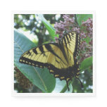 Swallowtail Butterfly I on Milkweed at Shenandoah Paper Napkin