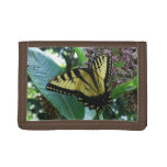 Swallowtail Butterfly I on Milkweed at Shenandoah Tri-fold Wallets
