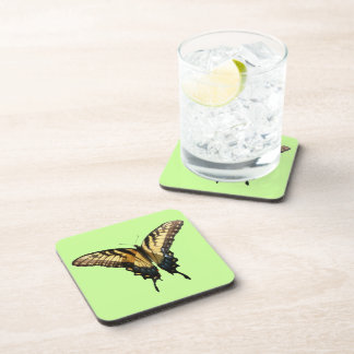 Swallowtail Butterfly III Beautiful Colorful Photo Beverage Coaster