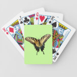 Swallowtail Butterfly III Beautiful Colorful Photo Bicycle Playing Cards