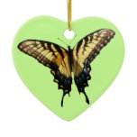 Swallowtail Butterfly III Beautiful Colorful Photo Ceramic Ornament