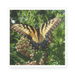 Swallowtail Butterfly III Beautiful Colorful Photo Paper Napkin