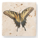 Swallowtail Butterfly III Beautiful Colorful Photo Stone Coaster