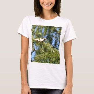 Swallowtail Butterfly in a Pine Tree T-Shirt
